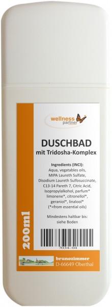 Duschbad mit Tridosha-Komplex