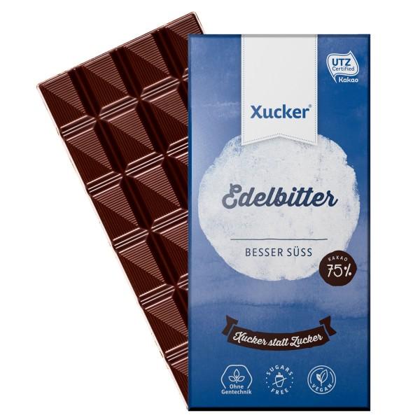 Edelbitterschokolade 80g