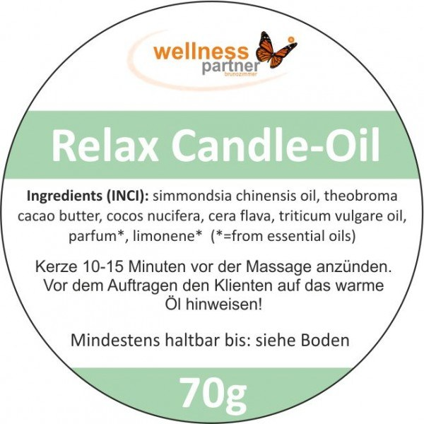 Candle-Oil-Massage---Relax 2x70g