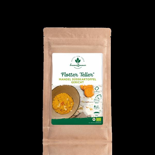 Flotter Teller® Mandel-Süßkartoffel