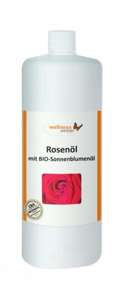 Rosenöl / BIO-Sonnenblumenölbasis