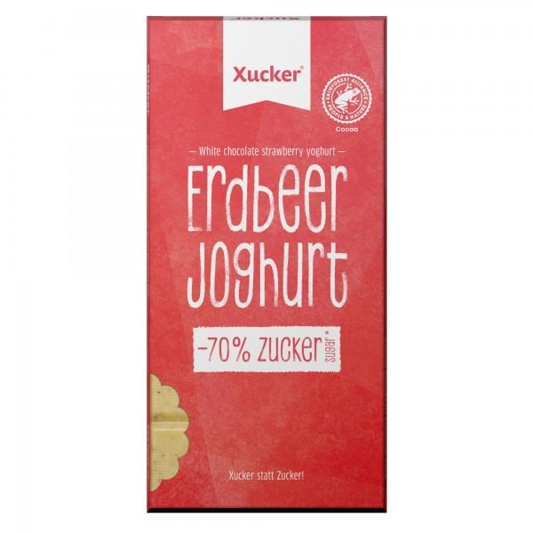 Erdbeer-Johurt Schokolade 80g