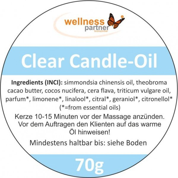 Candle-Oil-Massage---Clear 2x70g
