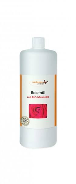 Rosenöl / BIO-Mandelölbasis