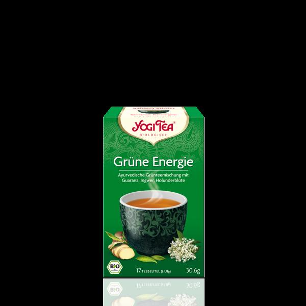 Grüne Energie Tee