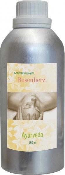 Gesichtsmassageöl - Rosenherz