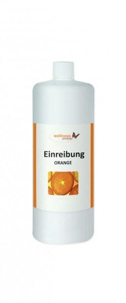 Klassische Einreibungen - Orange
